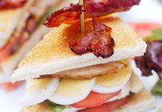 Club sandwich façon palace