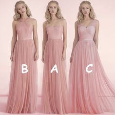 2016 Cheap Bridesmaid Dresses, Bridesmaid Dresses under 50, Tulle Long Nude Pink Blush Bridesmaid Dresses, Wedding Party Dress, Maid of Honor Dress
