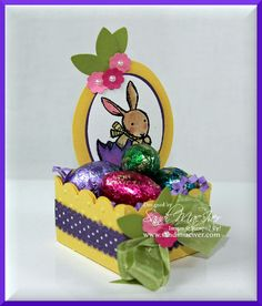 Easter Weekend BLOG PARTY-Project #1 by SandiMac - Cards and Paper Crafts at Splitcoaststampers