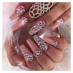Instagram post by Vanessa Gisselle Nailz • Feb 26, 2017 at 11:05pm UTC ❤ liked on Polyvore featuring nails