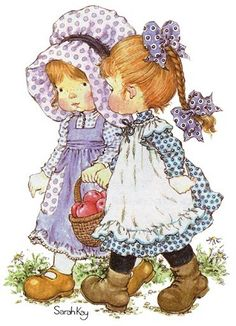 Soloillustratori: Holly Hobbie- Sarah Kay e Sambonnet Sarah Key, Holly Hobbie, Hobbies For Women, Fun Hobbies, Cheap Hobbies, Sara Key Imagenes, Decoupage, Finding A Hobby, Hobby Horse