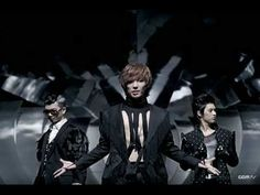 MBLAQ = Music Boys Live in Absolute Quality    Members:  Seungho(Leader)  G.O.(Byunghee)  Lee Joon  Cheondung(Thunder) - Sandara Park's brother  Mir(Cholyong) - Go Eun Ah's brother