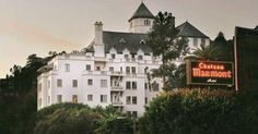 The haunted hotel, Chateau Marmont of West Hollywood, in Los Angeles California Haunted Hotel, Most Haunted, Haunted Places, Abandoned Places, Scary Places, Hollywood California, West Hollywood, California Usa, Southern California