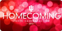 Homecoming is Oct. 1-6! Are you ready? Go Hoosiers!