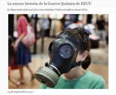 La oscura historia de laGuerra Química deEEUULa hipocresía está en el aire como Estados Unidos considera atacar Siria.