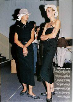 Spring/Summer 1992 Runway Report from…………. Tatjana Patitz, Catwalk Models, Rei Kawakubo, Linda Evangelista, Business Women, Spring Summer, Vogue, Lady, Clothes
