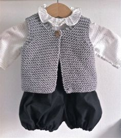 gilet de berger par Little Frenchies