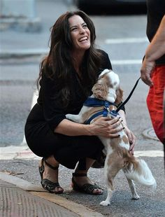 Liv Tyler is spotted out walking her dog in New York City on on June 29, 2015.