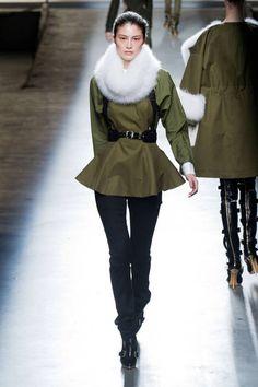 Fall 2013 Fur Runway Trends - Fall 2013 Trends Fur - ELLE