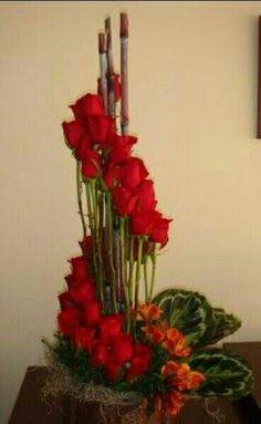 valentine rose hand tied