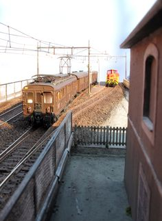 Train Room, Model Train Layouts, Model Trains, Scale Models, Railroad Tracks, Diorama, Modeling, Spanish, Toys