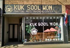 Kuk Sool Won located on Main Street in downtown Galesburg.  Photo by Amy Fort on March 11, 2015.