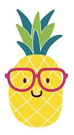 Adorable Nerdy Summer Pineapple Emoji with Glasses Vinyl Decal Sticker Tall, Pink) Photos Booth, Diy Photo Booth, Summer Wallpaper, Cute Wallpaper For Phone, Art Drawings For Kids, Easy Drawings, Pineapple Wallpaper Tumblr, Diy Fotokabine, Fruit Logo