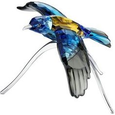 Swarovski Decorative Item, Blue Bird