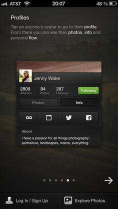 500px / 2.0.1 / Onboarding / Tutorial // View this app's user flows: www.uxarchive.com/apps/500px