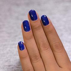 Pink Tip Nails, Grey Gel Nails, Navy Blue Nails, Blue Ombre Nails, Acrylic Nails, Navy Blue Nail Designs, Colorful Nail Designs, Holiday Nail Designs, Holiday Nail Art