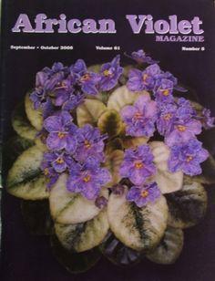 """African Violet"" magazine."