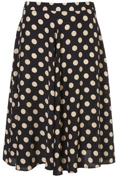 #skirt #retro #dots