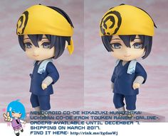Nendoroid Co-de Mikazuki Munechika: Uchiban Co-de   #rinkya #japan #fromjapan #nendoroid #toukenranbu