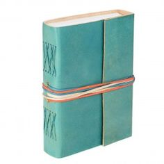 Coloured Leather Journal, Turquoise, 115 Unlined Recycled Paper Pages Notebook Leather Bound Journal, Journal Paper, Handmade Journals, Gel Pens, Fair Trade, Decorative Boxes, Stationery, Turquoise, Handmade Gifts