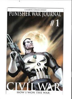 PUNISHER WAR JOURNAL #1 Great 1/10 VARIANT by Ariel Olivetti! ~NM~  http://r.ebay.com/Jm9tlS