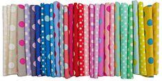 Sunday Stash #242 Stash Basics ~ Dots and Stripes