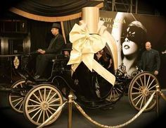 GAGA arrives at Macys to launch her perfume