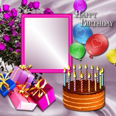 New Ideas happy birthday wishes cousin cake Happy Birthday Editor, Happy Birthday Cousin Girl, Birthday Wishes With Photo, Happy Birthday Frame, Birthday Photo Frame, Birthday Wishes Cake, Happy Birthday Wishes Images, Happy Birthday Wallpaper, Birthday Frames
