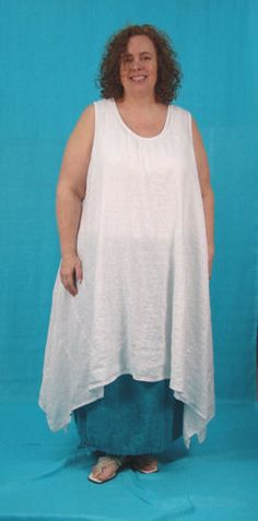 Marta Dress w/ Low Scoop Neck