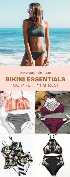Treat Yourself Something Special! Here are exactly beach esstentials! Various adorable features: falbala, splicing fabric, beautiful floral printing or simple solid-colour style~ Come and Check them out on Cupshe.com!