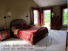 Great Home Staging Ideas to sell a home!  Declutter and other ideas.