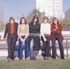 TRAPEZE in Wolverhampton, UK ~ November 13th, 1969 ~ I was 17. This is the 5 member version of TRAPEZE. Before the drinks and the partying...