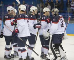 2014 U.S. Olympic Men's Team vs. Czech Republic (Quarterfinals) - Feb. 19, 2014 | Photos | USA Hockey National
