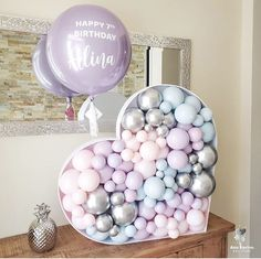 Baby Shower Balloon Decorations, Baby Shower Balloons, Birthday Balloons, Birthday Party Decorations, Bubble Balloons, Number Balloons, Heart Balloons, Balloon Gift, Balloon Garland