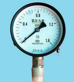 100mm 150mm Ammonia gas pressure gauge (YZA-100) - China Ammonia gas pressure gauge, Qinwei