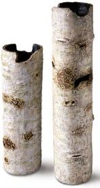 tall birch vases