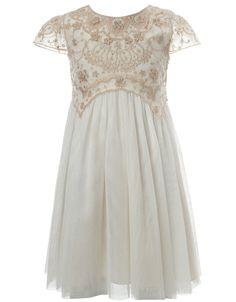 Baby Freya Dress | White | Monsoon