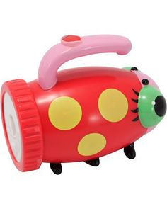 Dark nights are way less scary with this playful ladybug flashlight! Click above to buy one for your adventurous child.