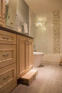 Lower Bathroom Cabinet Drawer Amp A Step Stool It Slides
