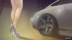 08. Luxery bitch #porsche #luxury #legs #hot #911s