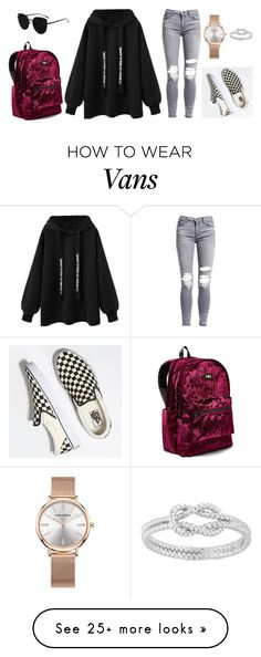 """Untitled #1751"" by atilaputra on Polyvore featuring AMIRI, Vans and Victoria's Secret"