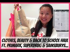 Clothes, Beauty & Back to school HAUL Ft. Primark, Superdrug & Sainsbury...