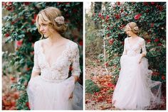 Elegant Beach 2016 New Bridal Gown Lace 3/4 Sleeve Deep V Neck With Crystal Sash Sweep Train Bridal Gown Latest Wedding Gown Mature Wedding Dresses From Aishangxinyue, $128.65| Dhgate.Com