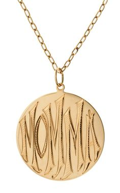 A MOMMA pendant for the mother in your life