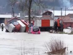 03/07/2016 - Serbia Declares Emergency after Regional Floods :: Balkan Insight - The authorities have declared an emergency situation in the Cacak, Lucani and Arilje municipalities in central and eastern Serbia due to heavy rain and flooding.