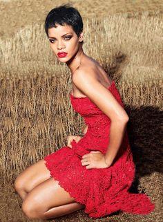 Rihanna for Vogue, 2012 by Annie Leibovitz