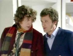 Fourth Doctor and Harry Sullivan