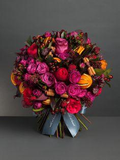 Mulled Wine Bouquet #Bouquet #Flower #Design #ブーケ