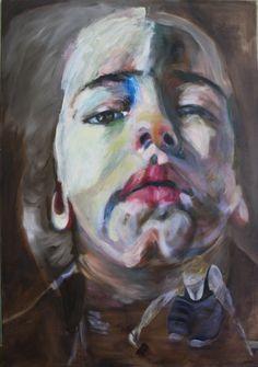 Portret van Dide, olieverf op linnen, 120x180cm