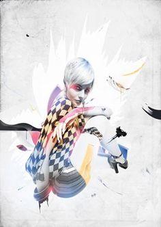 Fashion-inspired illustrations